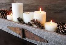Merry & Bright / Christmas holiday do it yourself projects