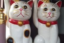 lucky cats / by Joan Martis