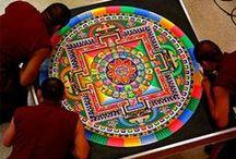 MANDALA 曼陀羅 / मण्डल,マンダラ, Sacred Geometry, מנדלה, Mándala, 만다라, དཀྱིལ་འཁོར།,曼荼羅, Fractal Circle, Kaleidoscope, Мандала, ماندالا