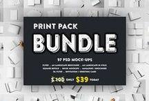 Realistic Mockups / Best Seller Premium Mockups