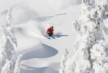 skiing. / #skiing