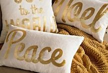 Christmas in Gold & White / Sparkly and Magical ...