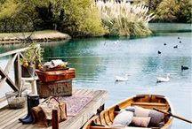 ...at the lake
