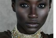 Tribal girl / Powerful women and girls and their adornments