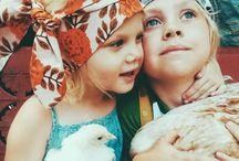 Boho babies and kids