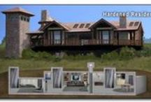 Hardened Homes - Defensible Fortified Eco Off The Grid / Hardened Homes or Defensible Fortified Eco Homes are custom tailored to our clients particular requirements.  We emphasize the family function and quality lifestyles as being the design drivers while all of our Fortified Homes bear an unmistakable architectural signature of safe and secure elegance.
