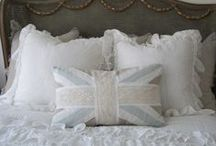 Pillow Persuasion / A soft place to land~ Whether it be your weary body, your tired head or artistic eye. / by cr8tvegrl