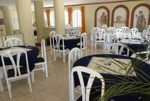 Tavira Garden Restaurant / Views of out newly refurbished restaurant at Tavira Garden Holiday and Residential Complex at Tavira, Eastern Algarve,portugal.