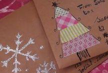 tél és karácsony / mindenféle dekorációs&csomagolós ötlet karácsonyra :)