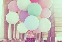 > Pastel  / Colours inspirations