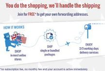 ABOUT US. / Get your free US and UK address to start shopping today on many merchant websites using your new shipping address. You can finally take advantage of the great deals offered by your favorite online retailers!