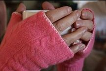 DIY Gloves & Mittens / DIY ideas for keeping your hands toasty--no need to knit or crochet!