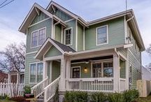 Germantown Craftsmen / Winner of a 2015 Metropolitan Historic Preservation Award - A charming Craftsmen style home in the Germantown area - Builders: Paragon Group, LLC  Nashville Tennessee