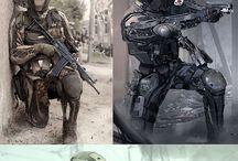 Futuristic Armors