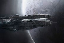Starship/Space Warship