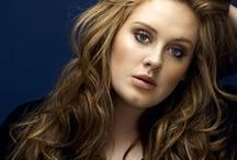 Adele / Adele's style, hair and make up.