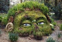 kreatív kert / creative garden