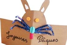 Pâques / Des idées d'activités et de bricolages pour Pâques.