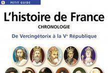 Histoire en français  / by parlefr