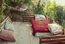 Hippie-Häuser