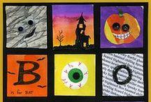 Halloween / Outils, ressources, activités et exercices sur le thème d'Halloween.