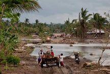Typhoon Haiyan in Philippines