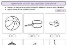 Français CP-CE1 / Affichages, outils, exercices et jeux pour le français et la lecture au CP et au CE1