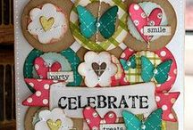 Use your punches and border punches / scrapbooking