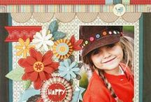 Use your paper collections / scrapbooking