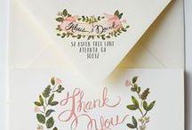 Wedding Invitations ♥ / Convites de casamento maravilhosos! De preferência DIY ;)