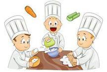 Recettes / Activités et ressources pédagogiques sur le thème de la recette (jeux, ateliers, lecture...)