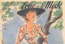 Amazing 40s dresses / Vintage Womens 1940's dresses