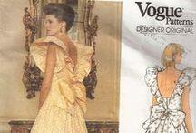 Timeless 80s dresses / 1980s vintage dresses