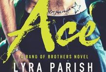 ACE - Band of Brothers / A board for Ace: A Band of Brothers Novel by #lyraparish #meetthehathways #bandofbrothersnovel