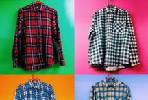 Flannel & plaid shirts / Vintage Mens plaid shirts
