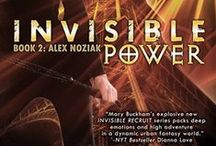 INVISIBLE POWER-Book 2 Urban Fantasy Invisible Recruits Series / The best selling Alex Noziak URBAN FANTASY series! Alex survived (barely) her first mission as an Invisible Recruit agent, fighting the bad preternaturals, but that was nothing to what she must face in Paris, the city of love, and death!