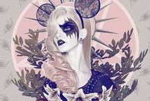 Pastel Goth Art