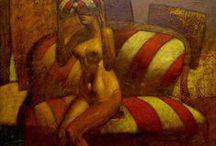 NISTOROV Rumen / http://aquicoral.blogspot.com/2013/09/rumen-nistorov-pintura-grabado.html