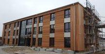Eco.Office init / Der ökologische Neubau des Firmengebäudes der init consulting AG wird in umweltfreundlicher Holzbauweise in Kösching (Ingolstadt) angesiedelt.