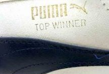 Trainers / Vintage Trainers from the 1960s to the 1990s. Including Adidas, Nike and Puma