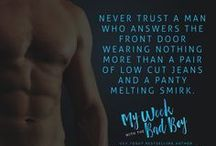 My Week with the Bad Boy / Pins inspired by the book My Week with the Bad Boy by Brooke Cumberland Lyra Parish. Read for FREE with Kindle Unlimited. Releasing in November.