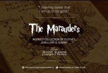 """The Marauders / """"I solemnly swear that I am up to no good."""" A Marauders inspired collection of clothes, jewellery & sundry."""