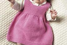 Kinderkleidung, gehäkelt und gestrickt! / by Monika Fuss