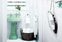 Bathroom Interior Ideas / A collection of design products and bathroom interiors that we love.