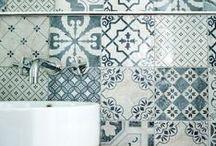 Bathroom Tiling & Flooring / A collection of bathroom tiling and flooring ideas.
