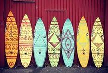 Surfboard ||| Art / Surfboard art ideas. Boardstix :)