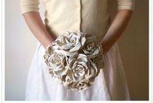 ♡ Paper wedding ♡ / ispirazioni per un matrimonio utilizzando la carta