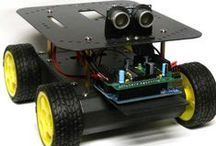 Arduino Robot Projects / Great Arduino board robot projects to build with Arduino products or Arduino licensed products.