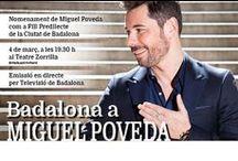 Acte de nomenament de Miguel Poveda com a Fill Predilecte de Badalona / Acte de nomenament de Miguel Poveda com a Fill Predilecte de Badalona divendres 4 de març al Teatre Zorrilla