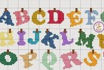 Ponto Cruz - Alfabetos